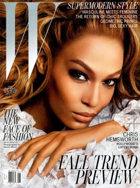 Supermodel Joan Smalls on W Magazine