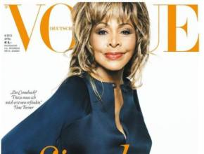 Tina Turner Covers VOGUE GERMANY at 73