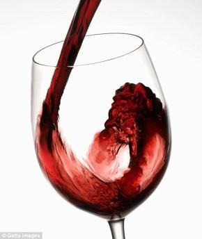 Elie Saab 2013: Red, Red,Wine