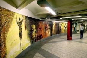 NYC Subway Art: CircusDelights