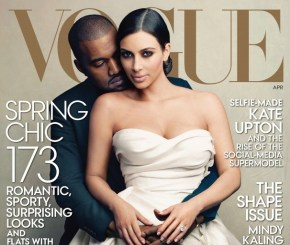 Vogue Takes a Chance on 'Kimye' Cover