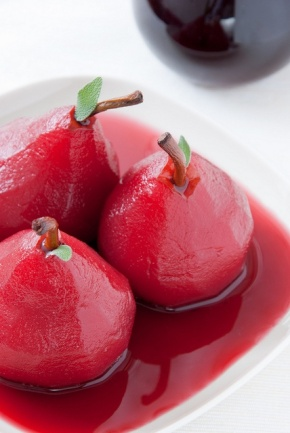 Take a Bite Into Valentino's Red Poached Pears & Raspberry CrumbBars