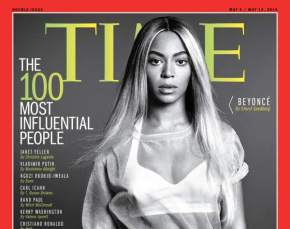 Beyonce Covers TIME