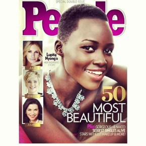 Lupita Is One of 'People's' Most Beautiful People