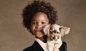 Actress Quvenzhané Wallis, 10, for Armani Campaign